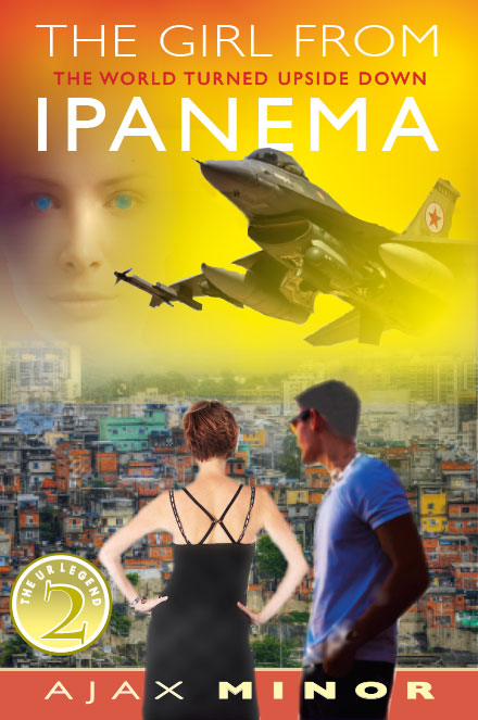 The Girl from Ipanema Fantasy Book Cover by Author Ajax Minor