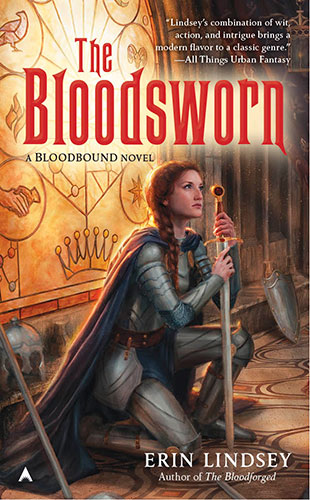 "Read the book ""The Bloodsworn,"" by Erin Lindsey"