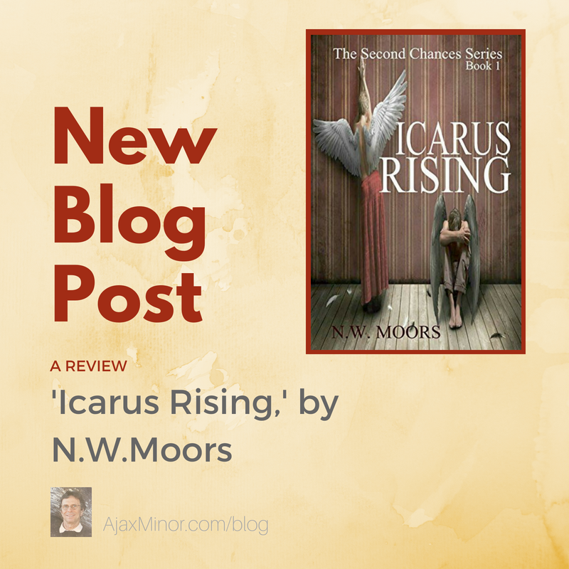 Icarus Rising by N.W.Moors: A Review by author Ajax Minor