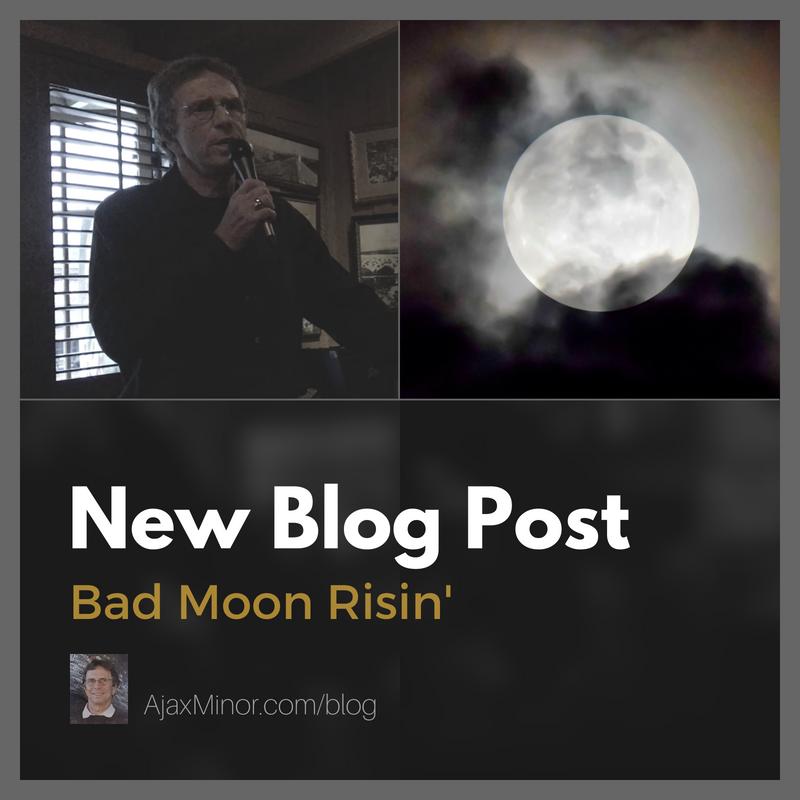 Blog Post by Author Ajax Minor