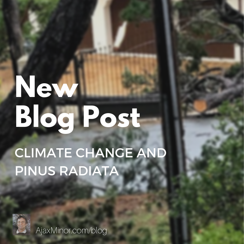 New blog post about Climate Change by author Ajax Minor